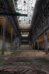 Wall Mural - Abandoned idnustry hall