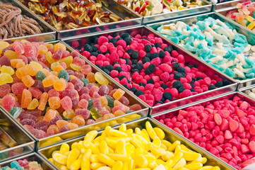 Etal de bonbons