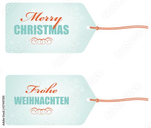 Frohe Weihnachten Anhänger.Anhänger Merry Christmas Frohe Weihnachten Stock Image And Royalty
