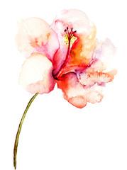 Decorative pink flower