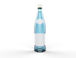 Blue Water Bottle