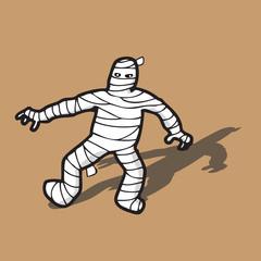 Mummy Egyptian death walking
