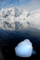 Fototapete - polar ice floe in antarctica