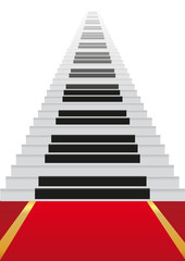 Escalier Piano
