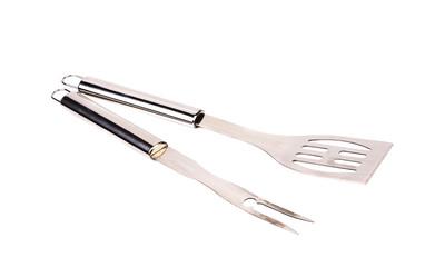 Metal BBQ tools.