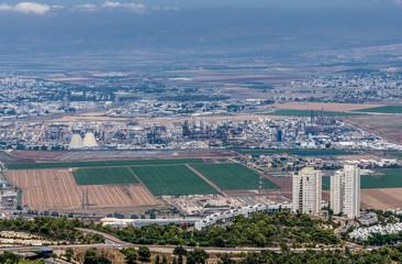 Haifa from above