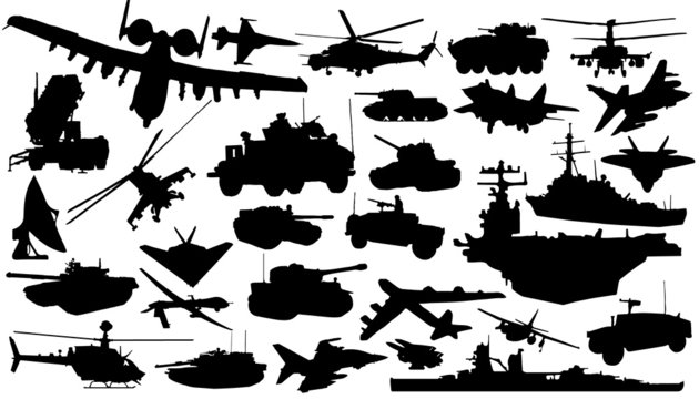 military_technology_silhouettes
