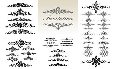 Calligraphic & Ornament Design Set