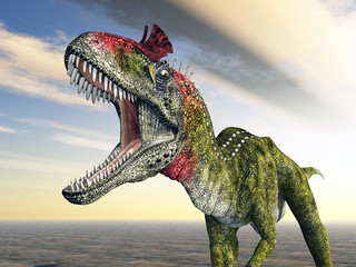Dinosaurier Cryolophosaurus