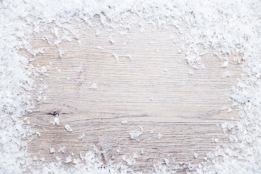 Hintergrund mit Schnee
