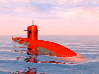 American Nuclear Submarine