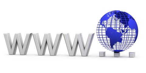 www Internet concept