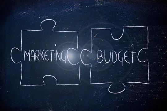 marketing & budget,jigsaw puzzle design