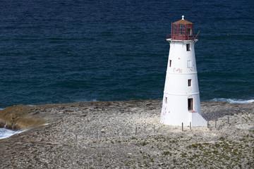 Alter Leuchtturm auf den Bahamas