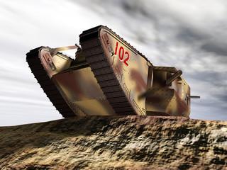 British heavy tank of World War I