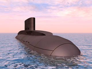 Russisches Unterseeboot