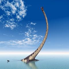 Plesiosaurier Elasmosaurus