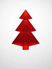 symbolic 3d Christmas tree