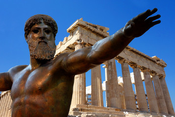 Poster Athens Athènes et l'Acropole