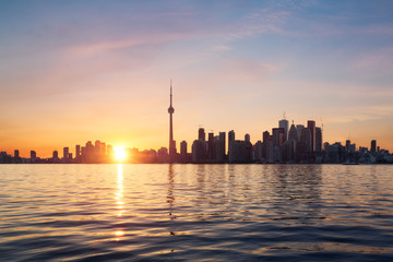 Fototapete - Toronto skyline, Canada