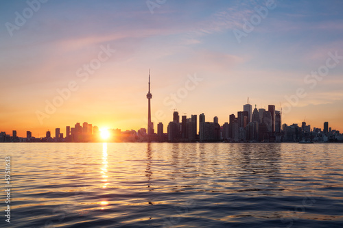Wall mural Toronto skyline, Canada
