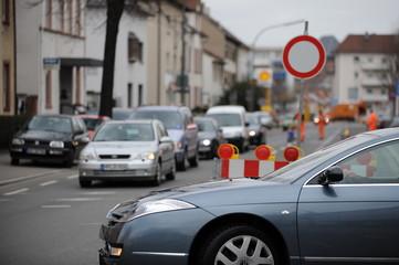 Baustelle Straße I