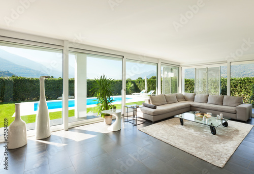 Astonishing Modern House Interior Beautiful Living Room Stockfotos Download Free Architecture Designs Grimeyleaguecom