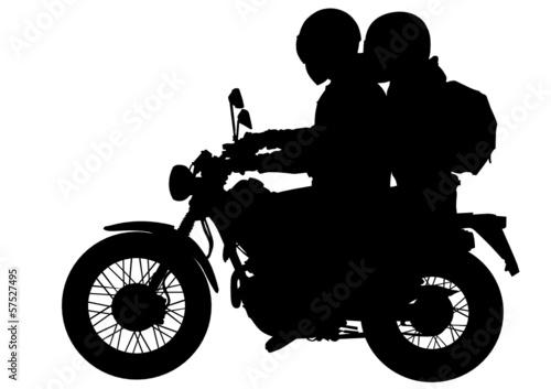 Fototapete Little bike