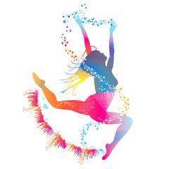 Splash Dancing Girl
