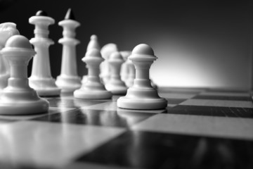 Planning a strategy in chess