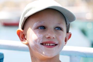 happy cancer child