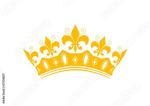Couronne des rois sticker epiphanie fichier - Image couronne des rois ...