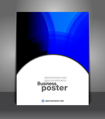 Abstract Flyer design content background. Design layout template