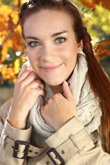 jesienna kobieta