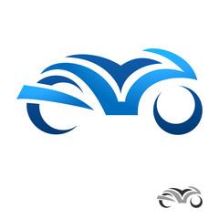Fotomurales - Motorrad - motorbike icon