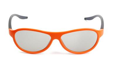 Orange eyeglasses
