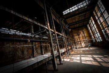 Keuken foto achterwand Industrial geb. abandoned industrial interior