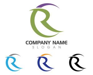 CR, R Logo