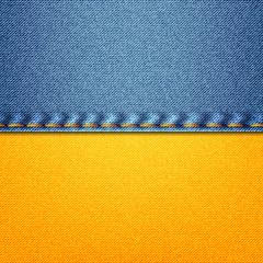 Denim  Ukrainian flag