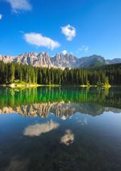 Lago di Carezza Cime Latemar