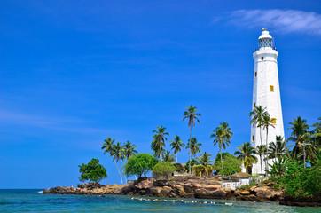 Beautiful Lighthouse and beach