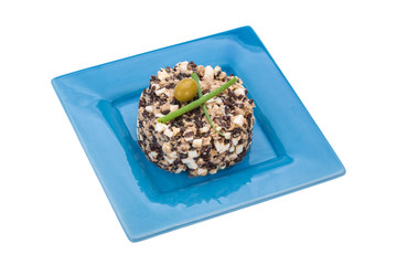 Tuna with red rice