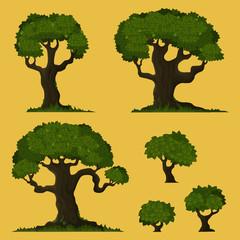 Tree vector set