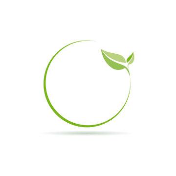 Vector logo clean environment