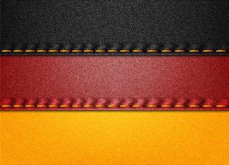 Denim Germany flag