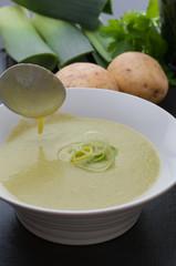 Creamy Leek And Potato Soup