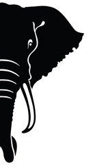 Elephant head.