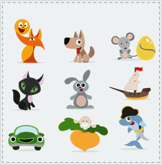 cute children Icons