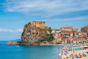 Fotomurales - Castle Scilla in Calabria, Italy