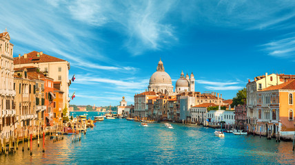 Photo sur Aluminium Venise Gorgeous view of the Grand Canal, Venice, Italy